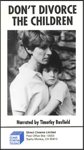 Don`t Divorce the Children (VHS)