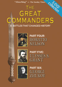 Great Commanders Series 3-DVD set (Parts 4,5,6)