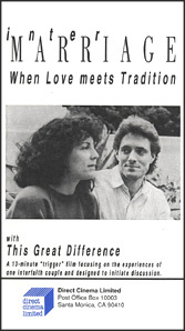 Intermarriage: When Love Meets Tradition (VHS)