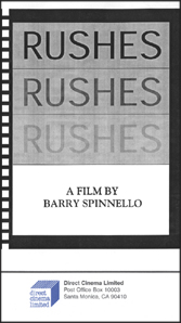 Rushes (VHS)