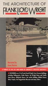Architecture of Frank Lloyd Wright, The (VHS)