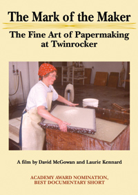 Mark of the Maker, The: The Fine Art of Papermaking at Twinrocker (DVD)